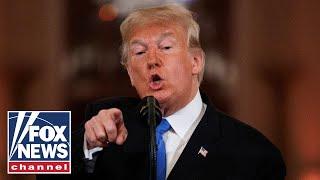 Trump press conference: I didn't threaten anybody, Democrats did