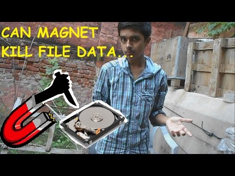 Can a Magnet Wipe your Whole computer data.Abs SCIENTIFIC } WORLD