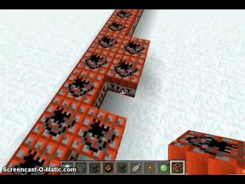 my super flat snow world on minecraft
