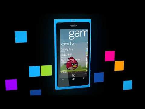 Installing Games & Apps on the Nokia Lumia 800