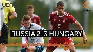 #U17 Group stage highlights: Russia 2–3 Hungary