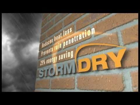 Treat Penetrating Damp With Stormdry