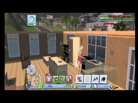 The Sims 3 Wii Update Social Services | Light House etc
