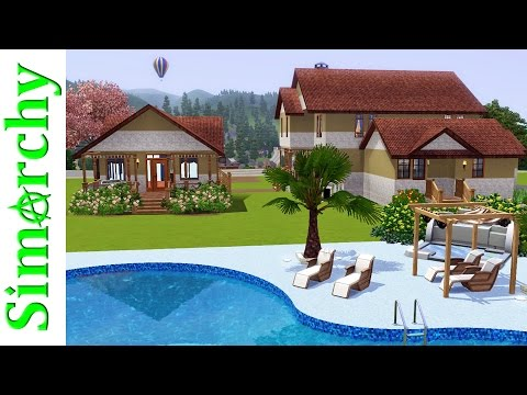The Sims 3 House Tour - Victorian Home with Large Yard, Pool, Hot Tub and Butler Suite!