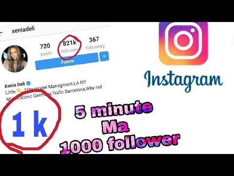 How to Get 100 %REAL UNLIMITED Instagram Followers FOR FREE (Hindi /urdu)2018