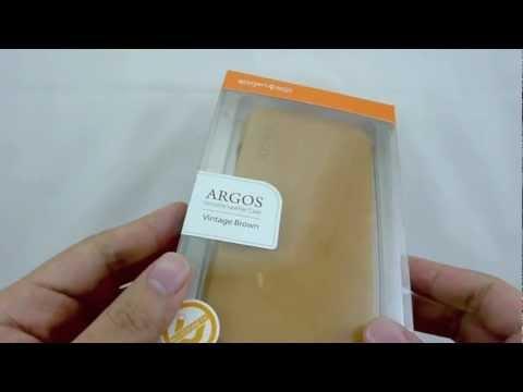 Review: Spigen SGP Samsung Galaxy S3 Leather Case Argos Series - Vintage Brown