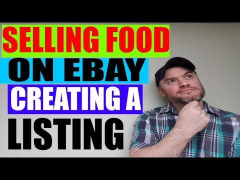 How to Start an Ebay Business Series : Food Listing and Do you have to have License
