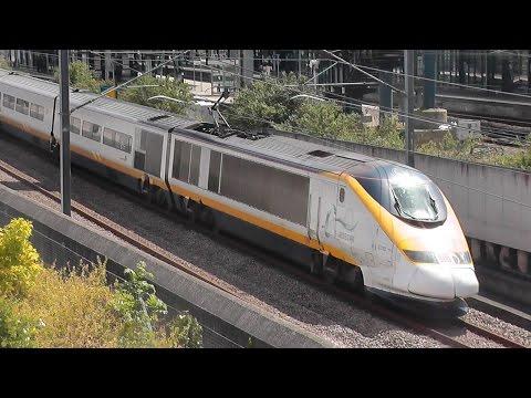 High Speed Eurostars at Ashford International! 16/05/15