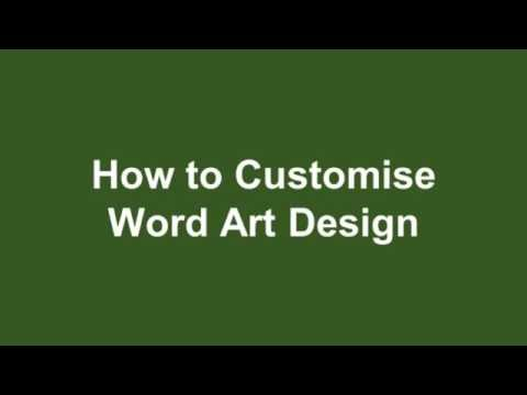 Microsoft Word 2016 Tutorial 10 How to Insert, Edit and Customize Word Art