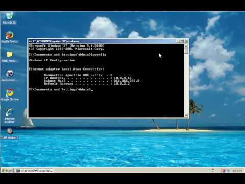 How to find your IP address using Command Prompt