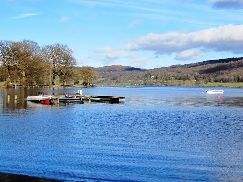 Lake District Country Walk   Coniston   Old Railway Line and Lake Shore round