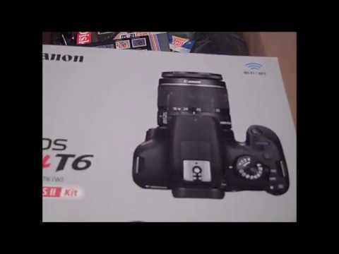 Canon EOS Rebel T6 DSLR Camera Bundle Customer Review