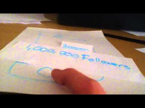 How to get 1 million followers on Instagram in 2 seconds!