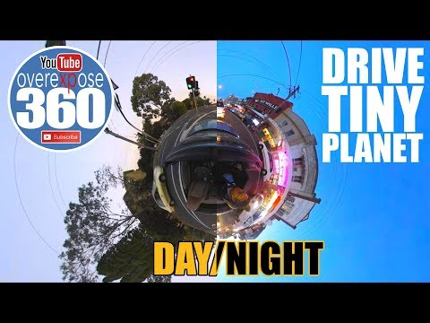 DRIVE - Tiny Planet 360 - Day/Night