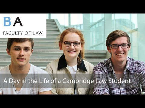 A Day in the Life of a Cambridge Law Student