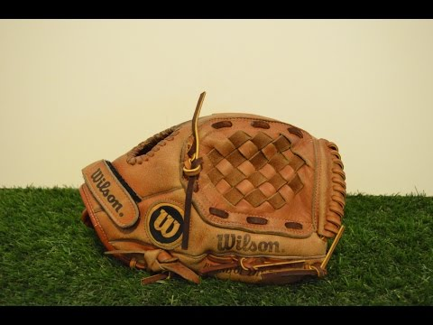 Wilson A2330 Baseball Glove Relace - Before and After Glove Repair