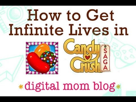 Candy Crush Saga Cheat - How to Get Infinite Lives in Candy Crush