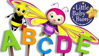 ABC Song | Butterfly | Nursery Rhymes | Original Song By LittleBabyBum!