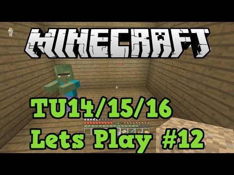 Minecraft Xbox 360 TU16 #12 - Converting A Zombie Villager (Curing Tutorial)