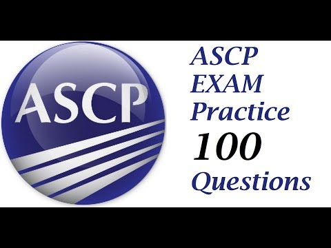 Questions to prepare for ASCP   1 to 50 PART 1