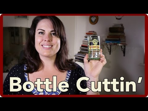 How to Cut the Top off of Glass Bottles