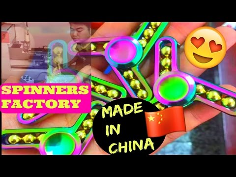 SPINNERS FACTORY in CHINA ??? HOW to BUY WHOLESALE !!!