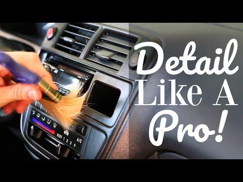 How To Clean Car Interior - Car Interior Detailing
