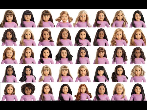 ALL AMERICAN GIRL TRULY ME DOLLS NUMBERED!