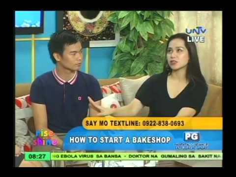 How to start a bakeshop business