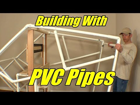 Building Flight Simulators with PVC Pipes