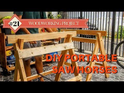DIY Portable Saw Horses