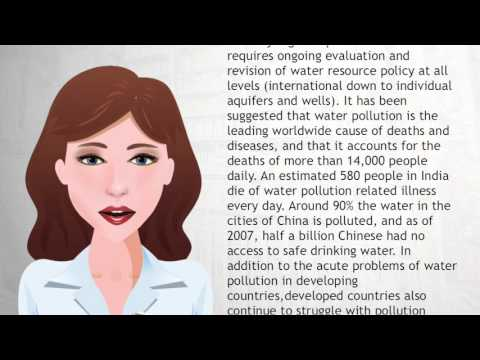 Water pollution - Wiki Videos