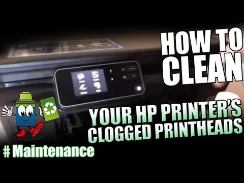 How To Clean Your HP Printer's Clogged Printheads