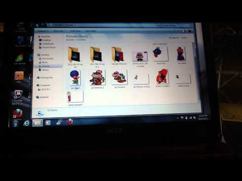 how to make a slideshow on your acer laptop