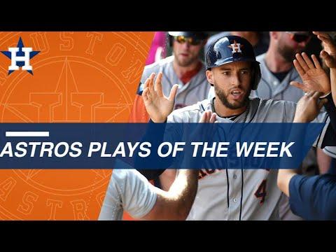 Astros' top plays of the week: 6/3/18 - 6/10/18