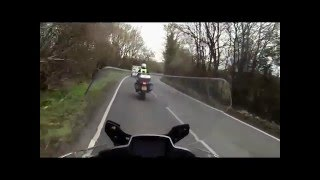 Advanced Motorcycle Test - examiners commentary