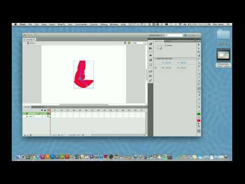 Adobe Flash CS5 Tutorial - How to Use the Bone Tool