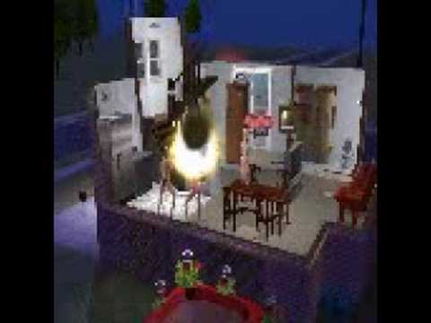The Sims 2 Fire Glitch