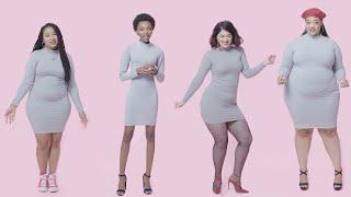 Women Sizes 0 Through 28 Try on the Same Bodycon Dress | Glamour