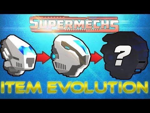 [SuperMechs] ITEM EVOLUTION ON NEW SUPERMECHS VERSION!!!