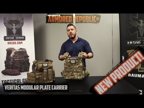 AR500 Armor® Veritas Modular Plate Carrier