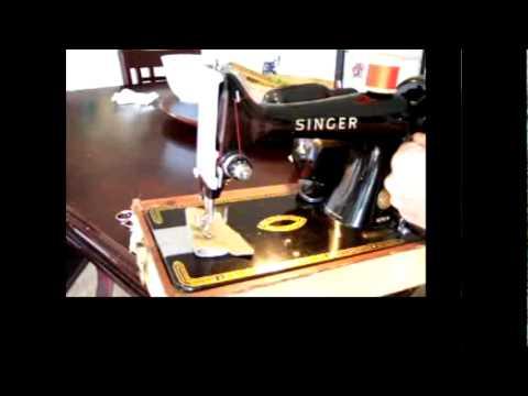 Singer  99 reverse stitch