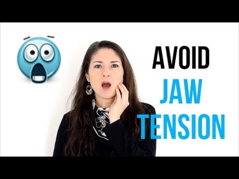 Freya's Singing Tips: How to avoid Jaw Tension