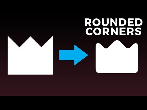 How to Round Corners on ANY Object in Photoshop!