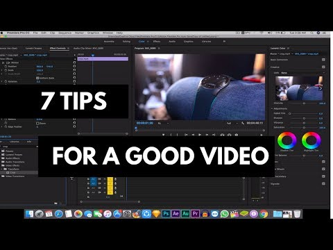7 Tips to become a Great YouTuber 😎