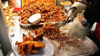 Download Mouthwatering KOREAN FOOD TOUR in SEOUL, South Korea - dakgalbi, fried chicken + MORE! Video
