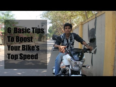 6 Basic Tips to Boost Your Bike's TOP SPEED