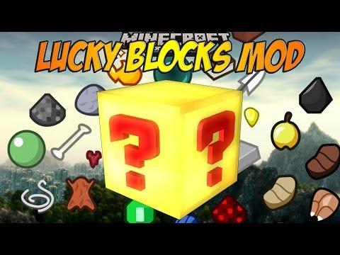 Minecraft PE lucky block mod 0.7.6 (script)