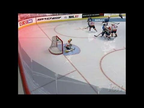 NHL 07 Xbox Gameplay - Winning Play