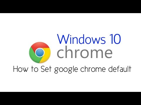 How to Set Google Chrome as DEFAULT Browser in Windows 10 | Set Chrome as Default Browser in Windows